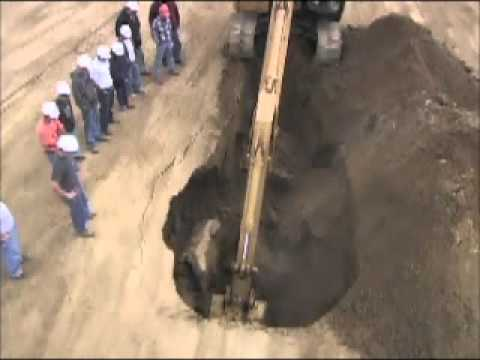 Trench Soil Collapse Video Wmv Youtube