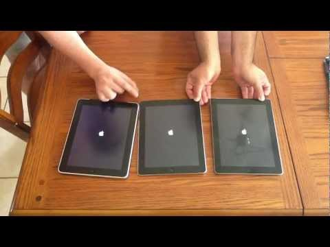 New iPad vs iPad 2 vs iPad first generation