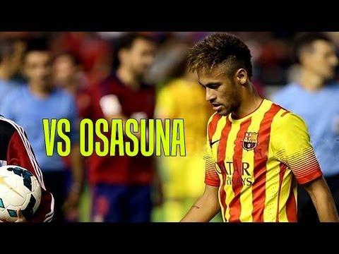 NEYMAR vs Osasuna [Away] • (Individual Highlights) • (19.10.2013) HD 720p by Creative7