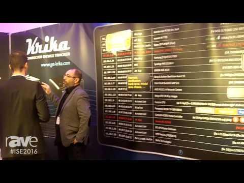 ISE 2016: Krika Highlights Krika Mini Network Monitoring Device