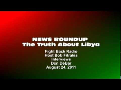 Bob Fitrakis interviews Don DeBar on Libya