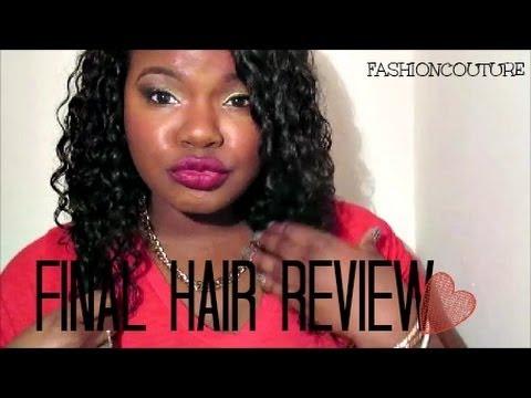 Sensations by shaq mayvenn brazilian deep wave hair final review