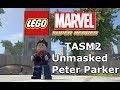 LEGO Marvel Super Heroes The Video Game Unmasked TASM2 Peter Parker