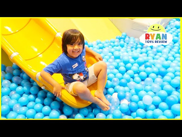 Indoor Playground for Kids Play Time  Outdoor Amusement Park!!!
