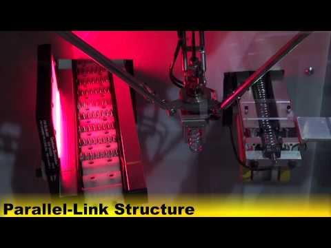 M-1iA/0.5S Robot Picks & Places Springs in a CNC Forming Machine – FANUC Robotics
