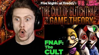 "Vapor Reacts #971 | FNAF VR GAME THEORY ""FNAF, The Cult of Glitchtrap"" The Game Theorists REACTION!!"