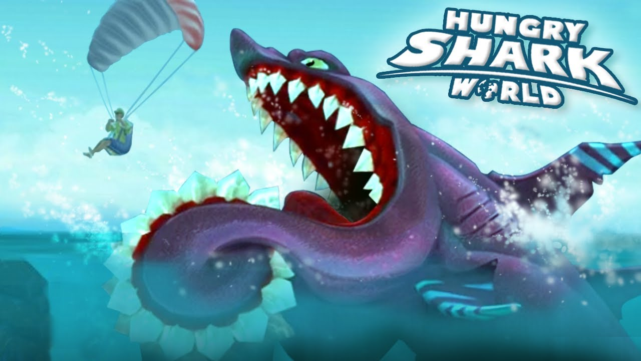 NEW Shark BUZZ The Helicoprion!!! - Hungry Shark World | Ep 47 HD