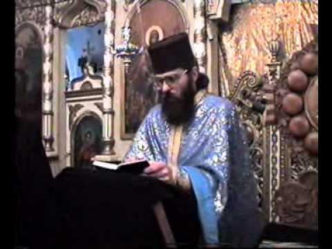 Duminca Cuvioasei Maria Egipteanca 1999 parintele Calistrat duhovnicul