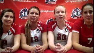 Women's Volleyball Post Game Interview