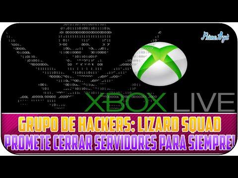 LIZARD SQUAD - PROMETE ELIMINAR POR COMPLETO SERVICIO DE XBOX LIVE!