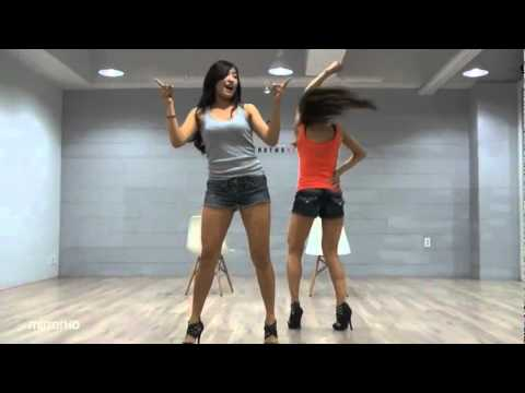 SISTAR19 'Ma Boy' mirrored Dance Practice [Eng Sub]