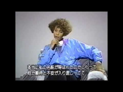 Whitney Houston - Interview Japan 1991