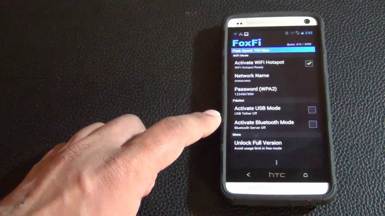 enable wifi hotspot tether on any android smartphone
