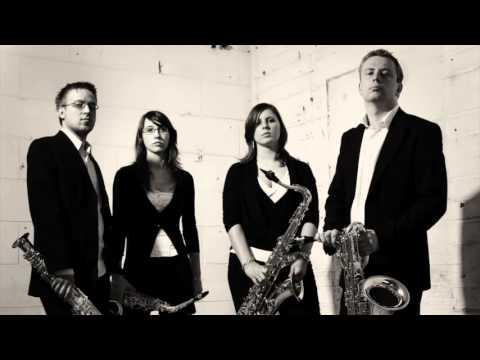 Carmen Fantasy Georges Bizet by CeDeL Saxophone Quartet (LIVE)