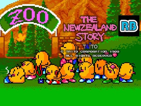 1988 [60fps] The New Zealand Story Nomiss ALL