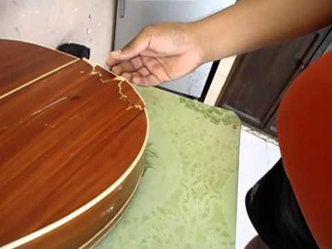 Como Pegar Y Reparar Tu Guitarra Rota En 5 Pasos PARTE 1 CUADRADO Y PEGADO DEL CUERPO