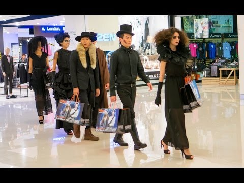 Halloween Fashion 2013 ZEN CentralWorld Bangkok Thailand