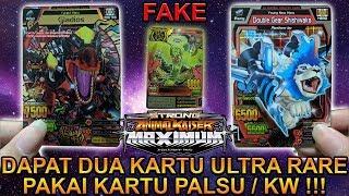 DAPAT 2 KARTU ULTRA RARE PAKAI KARTU PALSU !!! - STRONG ANIMAL KAISER MAX 4 #3