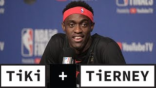 Pascal Siakam Is The Unlikely Hero For Game 1 | Tiki + Tierney