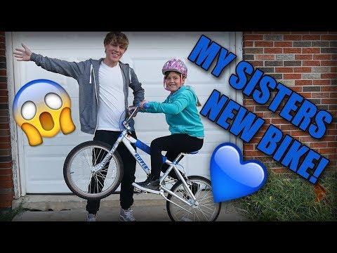 BUYING MY LITTLE SISTER A NEW BIKE! (SEBIKES RIPPER!)