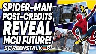 Spider-Man Post-Credits REVEAL MCU Future?! UK Star Cast In Black Widow   ScreenStalker Movies