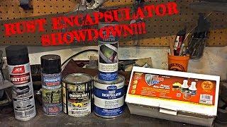 Rust Encapsulator Paint SHOWDOWN!!! - ONE YEAR CHALLENGE