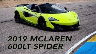 2019 McLaren 600LT Spider first drive