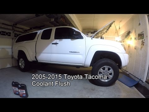 toyota rav4 2008 antifreeze coolant drain and replacement 100 000 mile service how to save. Black Bedroom Furniture Sets. Home Design Ideas