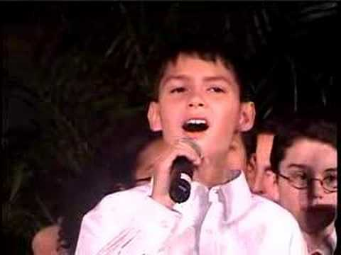 PS22 Chorus -- Marcia Gay Harden teaches Justin a lesson! Video