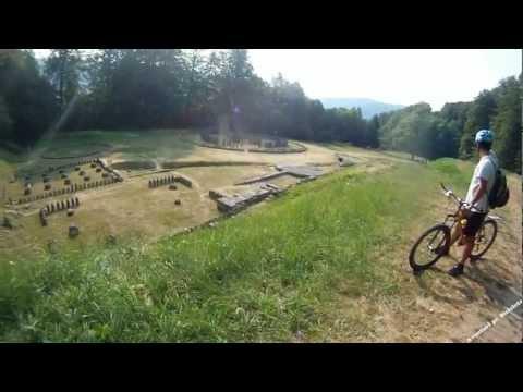 Aventuri pe bicicleta - O vara la pedala