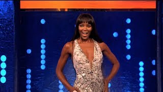 Naomi Campbell Conquers The Catwalk - The Jonathan Ross Show