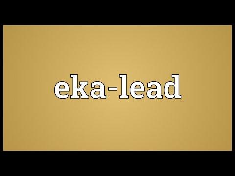 Header of eka-lead