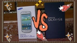 SAMSUNG GALAXY S3 VS SAMSUNG GALAXY S3 MINI UNBOXING/ DESEMPAQUETADO/ REVIEW/ ANÁLISIS/