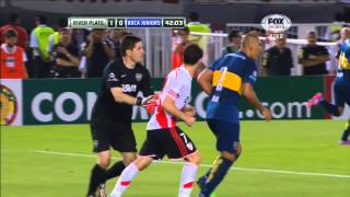 River 1 - 0 Boca - Semifinal Copa Sudamericana 2014