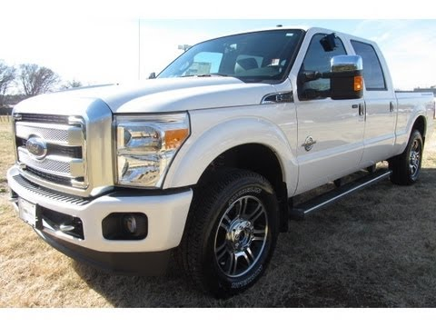 FOR SALE 2013 FORD F-250 PLATINUM CREWCAB 4X4 6.7 DI