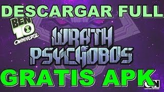 Descargar Wrath of Psychobos Ben 10 - Android - Full gratis apk [ACTUALIZADO]