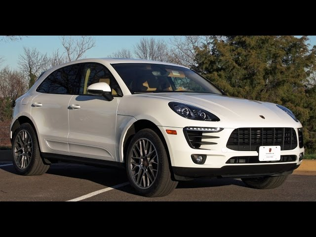 2016 Porsche Macan S Test Drive & Review - YouTube