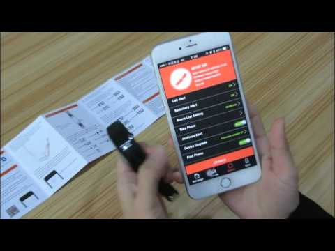 ID107 Heart Rate Smart Bracelet. HR Smart band Review video
