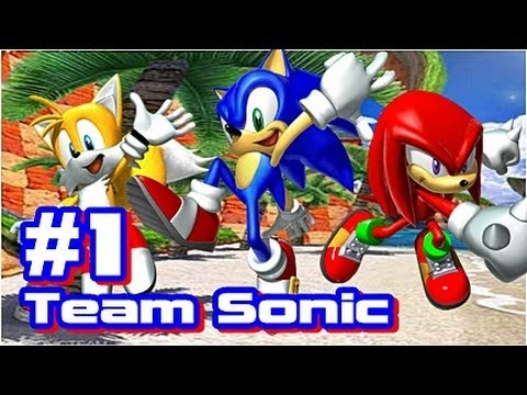 Let's Play Sonic Heroes - Team Sonic - Part 1