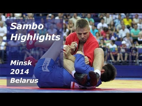 Sambo Highlights Minsk 2014 Belarus Sambo Tournament on Prizes of President 2014 Highlights