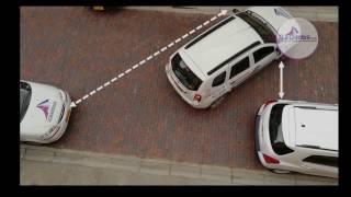 ¿cómo parquear un vehículo en reversa y espacio reducido fácilmente?