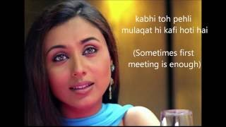 Dialogues Based on relationship from movie Hum tum | Learning Process
