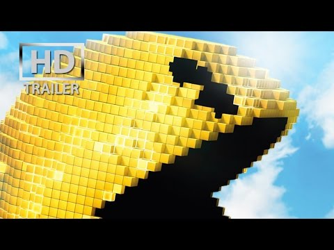 Pixels | official teaser trailer US (2015) Peter Dinklage Adam Sandler