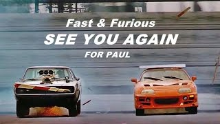 Fast Furious Wiz Khalifa See You Again ft Charlie Puth with Lyrics HD