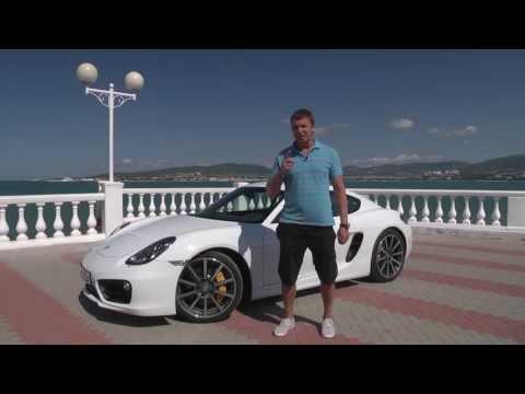 Тест нового Porsche Cayman