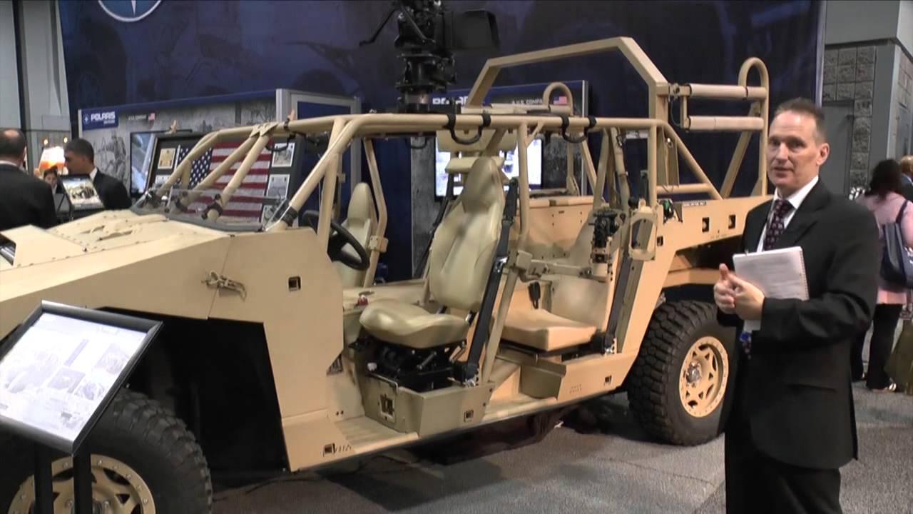 AUSA 2014 Polaris Defence DAGOR Ultra-Light Combat Vehicle ...