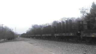 Possibly the last AK Steel Train from Ashland KY
