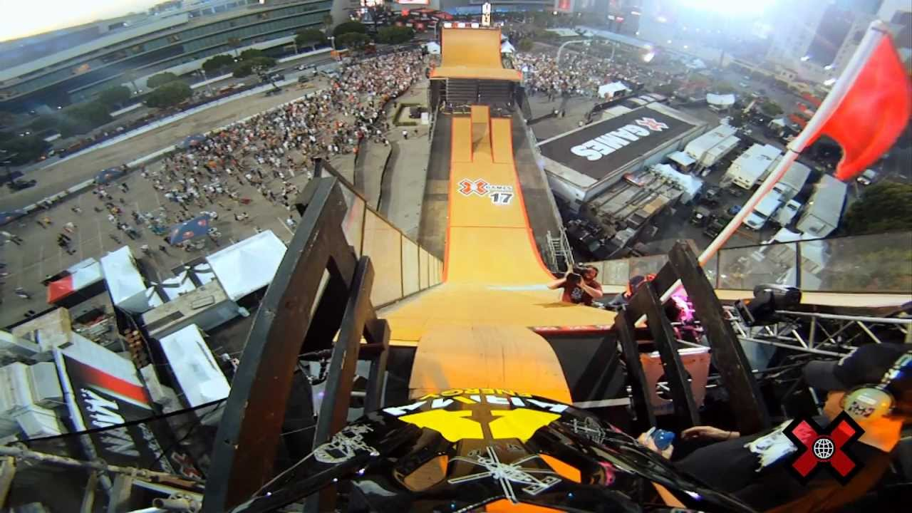 X Games Bmx Mega Ramp GoPro HD X Games 17 - BMX Big