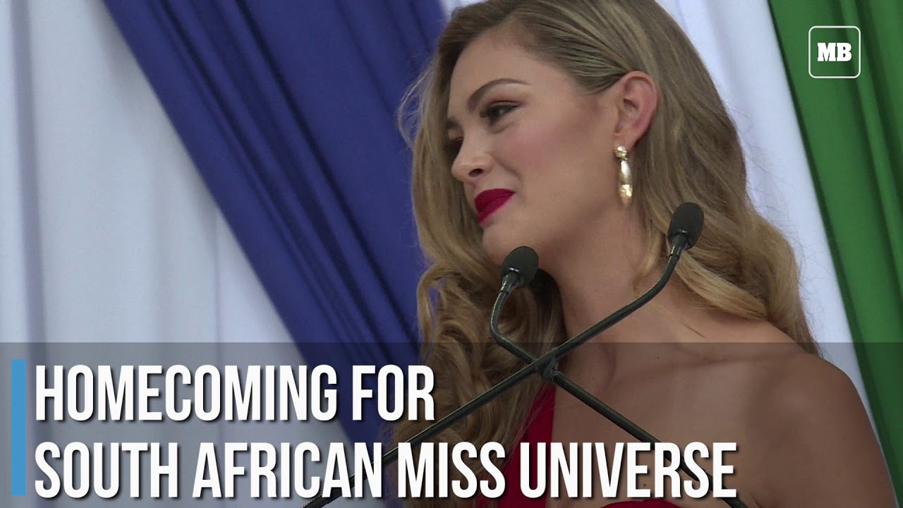 Homecoming for South African Miss Universe
