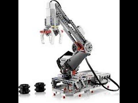 Brazo Del Robot H25 - LEGO Mindstorm EV3